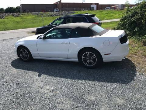 2013 Ford Mustang for sale at Clayton Auto Sales in Winston-Salem NC