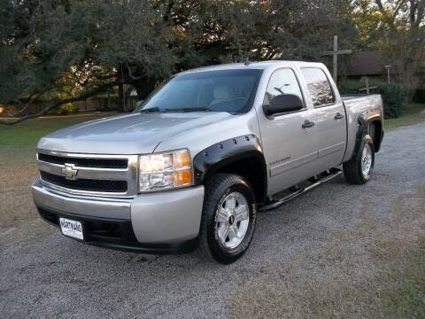 2007 Chevrolet Silverado 1500 for sale at Hartman's Auto Sales in Victoria TX