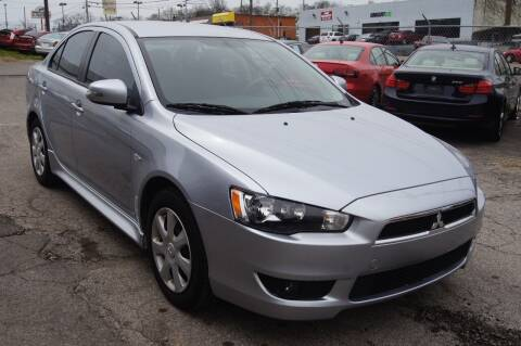 2015 Mitsubishi Lancer for sale at Green Ride Inc in Nashville TN