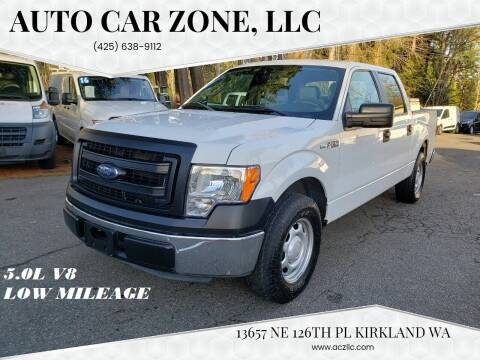 2013 Ford F-150 for sale at Auto Car Zone, LLC in Kirkland WA
