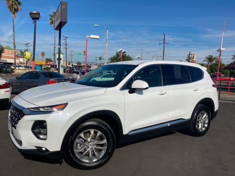 2020 Hyundai Santa Fe for sale at Pacific West Imports in Los Angeles CA