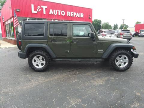 2016 Jeep Wrangler Unlimited for sale at L&T Auto Sales in Three Rivers MI