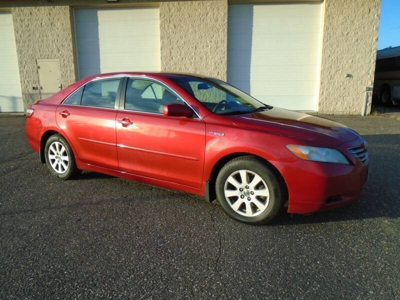 2007 Toyota Camry Hybrid for sale at Route 65 Sales & Classics LLC in Ham Lake MN