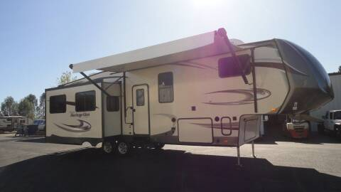 2017 Forest River Heritage Glen 327RE for sale at AMS Wholesale Inc. in Placerville CA