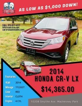 2014 Honda CR-V for sale at Carz R Us in Machesney Park IL
