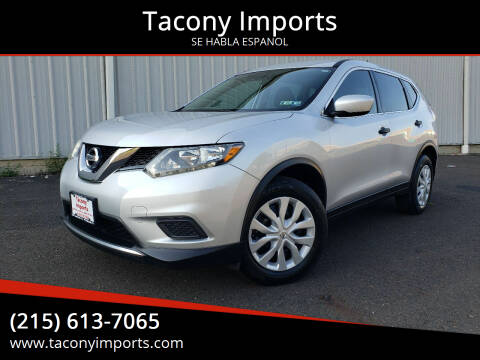 2016 Nissan Rogue for sale at Tacony Imports in Philadelphia PA