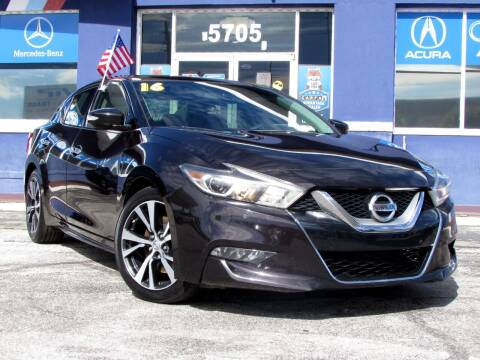 2016 Nissan Maxima for sale at Orlando Auto Connect in Orlando FL