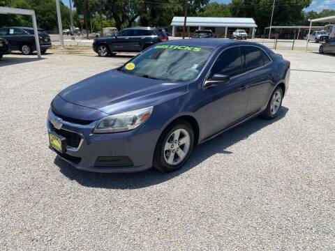 2015 Chevrolet Malibu for sale at Bostick's Auto & Truck Sales in Brownwood TX