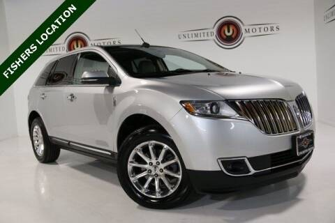 2015 Lincoln MKX for sale at Unlimited Motors in Fishers IN