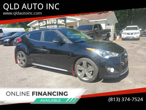 2014 Hyundai Veloster for sale at QLD AUTO INC in Tampa FL