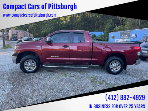 2010 Toyota Tundra for sale at Compact Cars of Pittsburgh in Pittsburgh PA