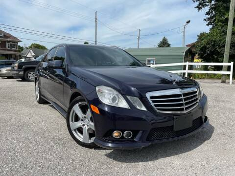2010 Mercedes-Benz E-Class for sale at Integrity Auto Sales in Brownsburg IN