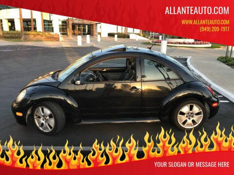 2004 Volkswagen New Beetle for sale at AllanteAuto.com in Santa Ana CA