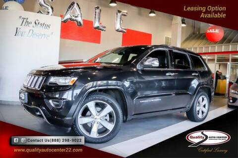 2014 Jeep Grand Cherokee for sale at Quality Auto Center of Springfield in Springfield NJ
