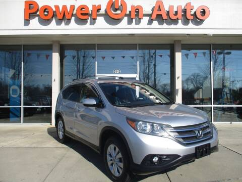 2012 Honda CR-V for sale at Power On Auto LLC in Monroe NC