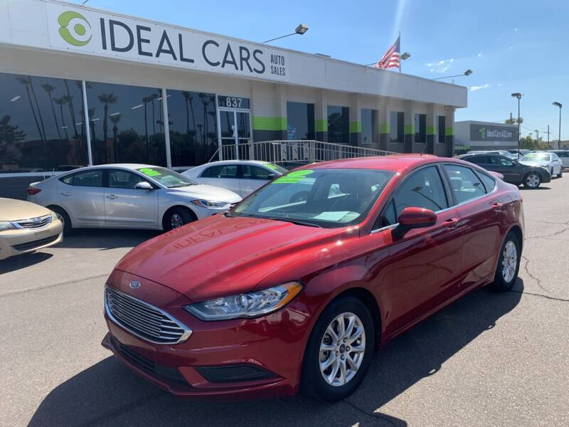 2017 Ford Fusion for sale at Ideal Cars East Mesa in Mesa AZ
