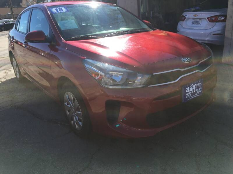 2018 Kia Rio for sale at 4X4 Auto Sales in Durango CO