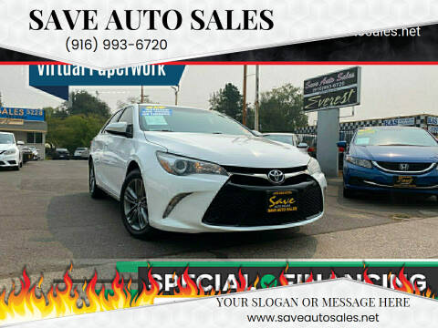 2017 Toyota Camry for sale at Save Auto Sales in Sacramento CA
