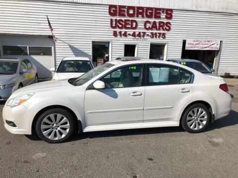 2011 Subaru Legacy for sale at George's Used Cars Inc in Orbisonia PA