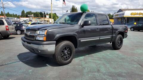 2005 Chevrolet Silverado 1500 for sale at Good Guys Used Cars Llc in East Olympia WA