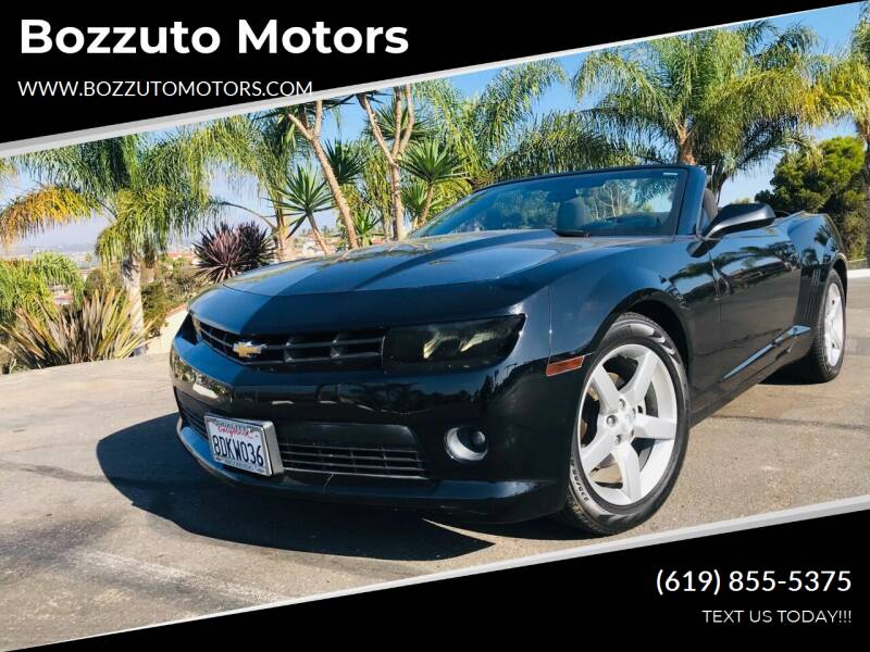 2015 Chevrolet Camaro for sale at Bozzuto Motors in San Diego CA