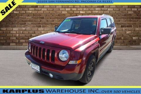 2016 Jeep Patriot for sale at Karplus Warehouse in Pacoima CA