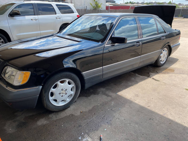 1996 Mercedes-Benz S-Class for sale at Dean Motor Cars Inc in Houston TX