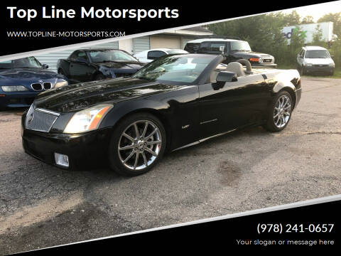 2004 Cadillac XLR for sale at Top Line Motorsports in Derry NH