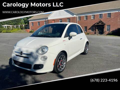 2013 FIAT 500 for sale at Carology Motors LLC in Marietta GA