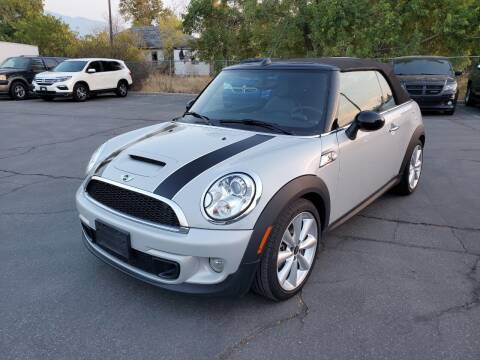 2013 MINI Convertible for sale at UTAH AUTO EXCHANGE INC in Midvale UT