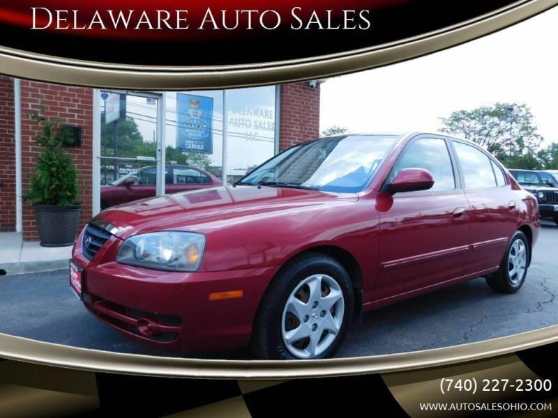 2006 Hyundai Elantra for sale at Delaware Auto Sales in Delaware OH