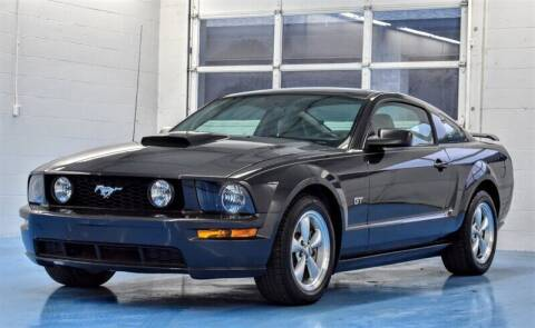 2007 Ford Mustang for sale at Mershon's World Of Cars Inc in Springfield OH