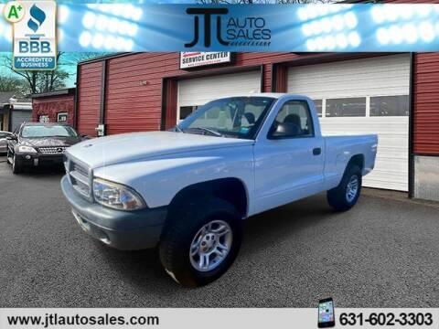 2003 Dodge Dakota for sale at JTL Auto Inc in Selden NY