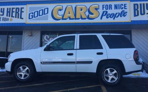 2002 Chevrolet TrailBlazer for sale at Good Cars 4 Nice People in Omaha NE