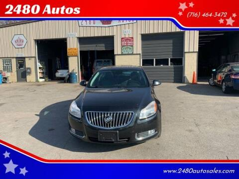 2011 Buick Regal for sale at 2480 Autos in Kenmore NY