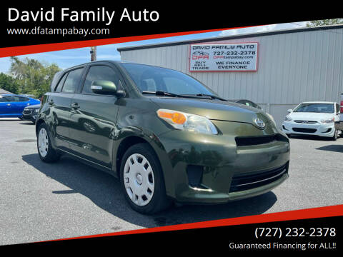 2012 Scion xD for sale at David Family Auto in New Port Richey FL