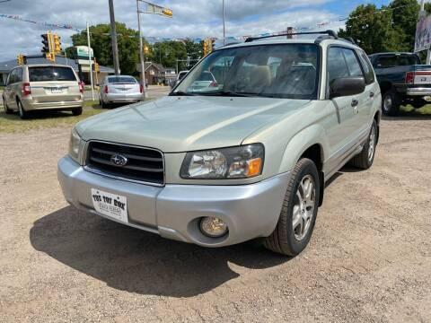 2005 Subaru Forester for sale at Toy Box Auto Sales LLC in La Crosse WI