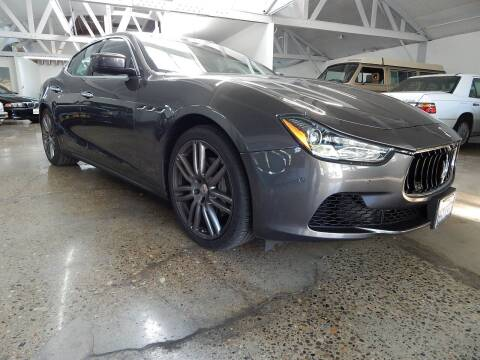 2016 Maserati Ghibli for sale at Milpas Motors Auto Gallery in Ventura CA
