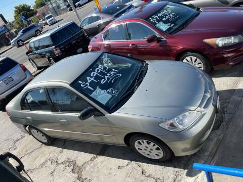 2005 Honda Civic for sale at Olympic Motors in Los Angeles CA