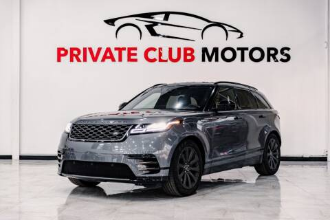 2018 Land Rover Range Rover Velar for sale at Private Club Motors in Houston TX