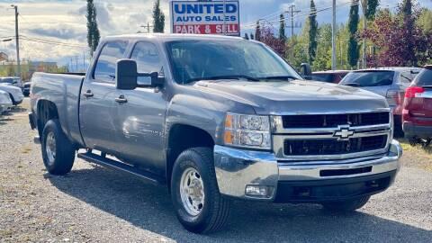 2008 Chevrolet Silverado 2500HD for sale at United Auto Sales in Anchorage AK