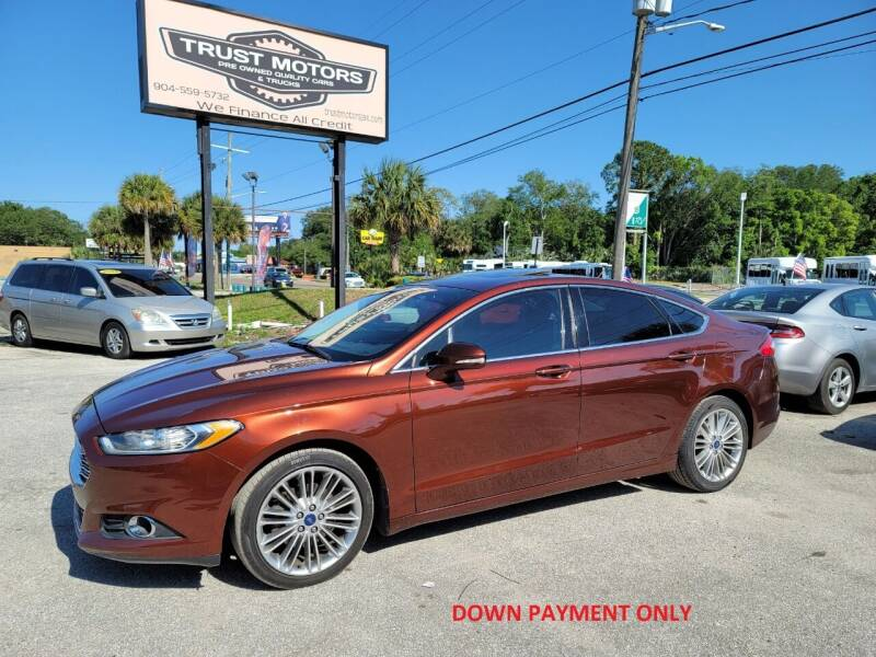 2015 Ford Fusion for sale at Trust Motors in Jacksonville FL