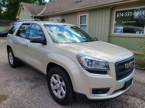 2013 GMC Acadia for sale at Sharpin Motor Sales in Columbus OH