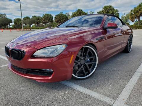 2012 BMW 6 Series for sale at Winners Autosport in Pompano Beach FL