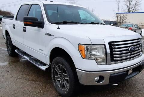 2012 Ford F-150 for sale at J & J Used Auto in Jackson MI