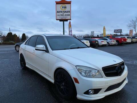 2009 Mercedes-Benz C-Class for sale at TDI AUTO SALES in Boise ID