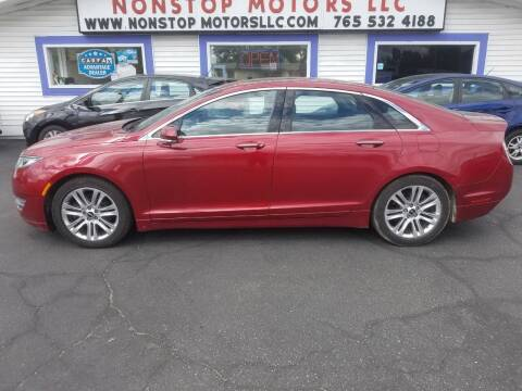 2014 Lincoln MKZ for sale at Nonstop Motors in Indianapolis IN