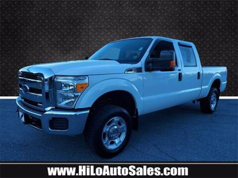 2016 Ford F-250 Super Duty for sale at Hi-Lo Auto Sales in Frederick MD