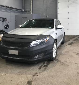 2013 Kia Optima for sale at Square Business Automotive in Milwaukee WI