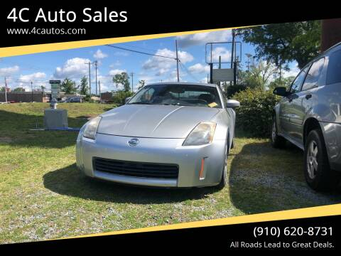 2003 Nissan 350Z for sale at 4C Auto Sales in Wilmington NC